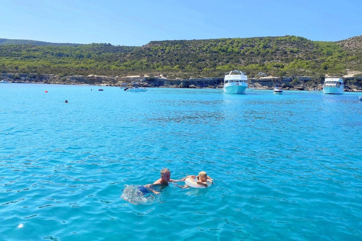 Wycieczka do Błękitnej Laguny - obowiązkowy punkt programu pobytu na Cyprze