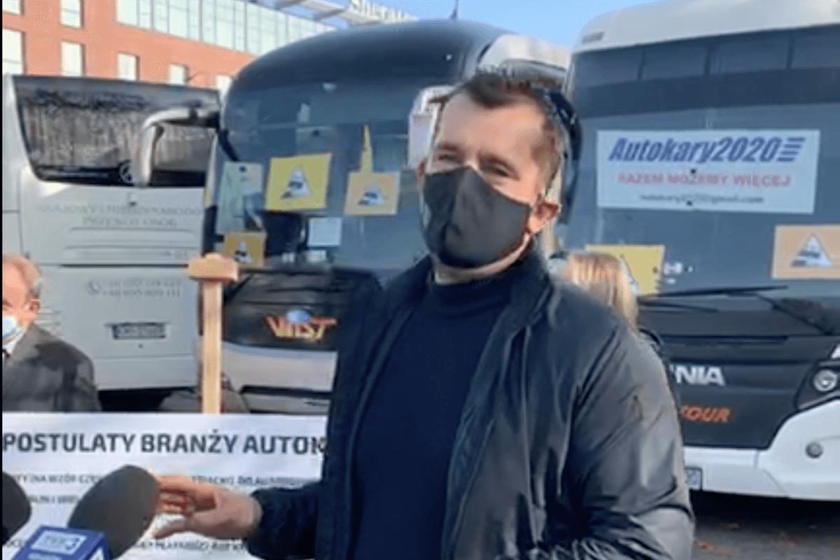Przewoźnicy autokarowi walczą o swoje