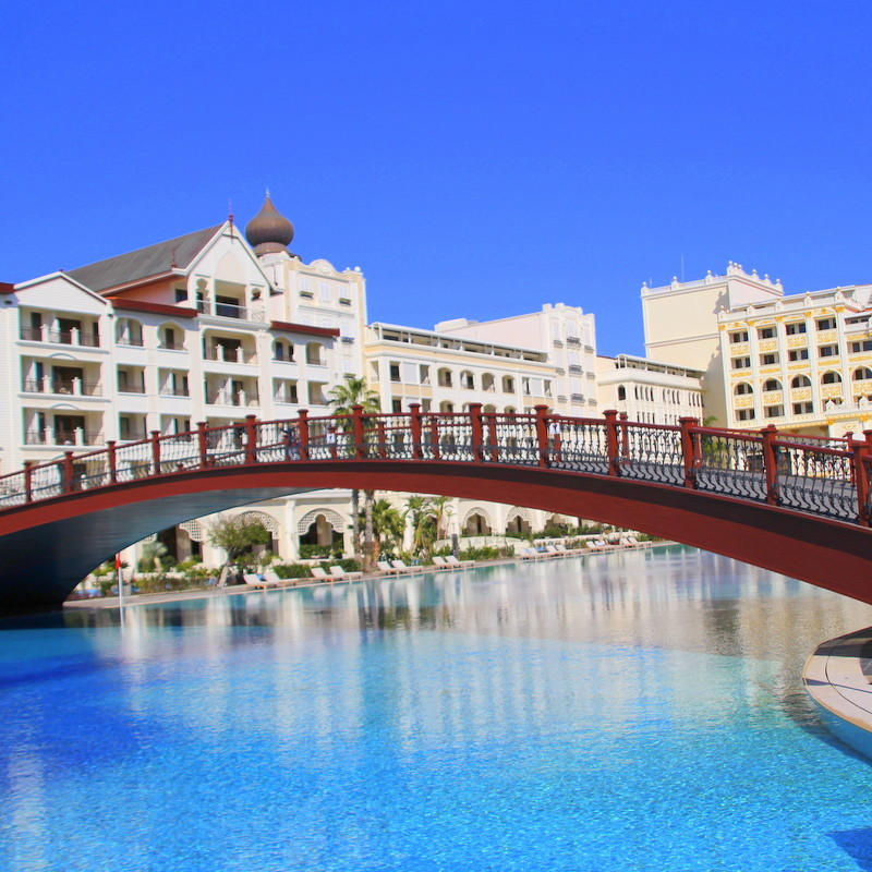 A hotel in Antalya resort, Turkey