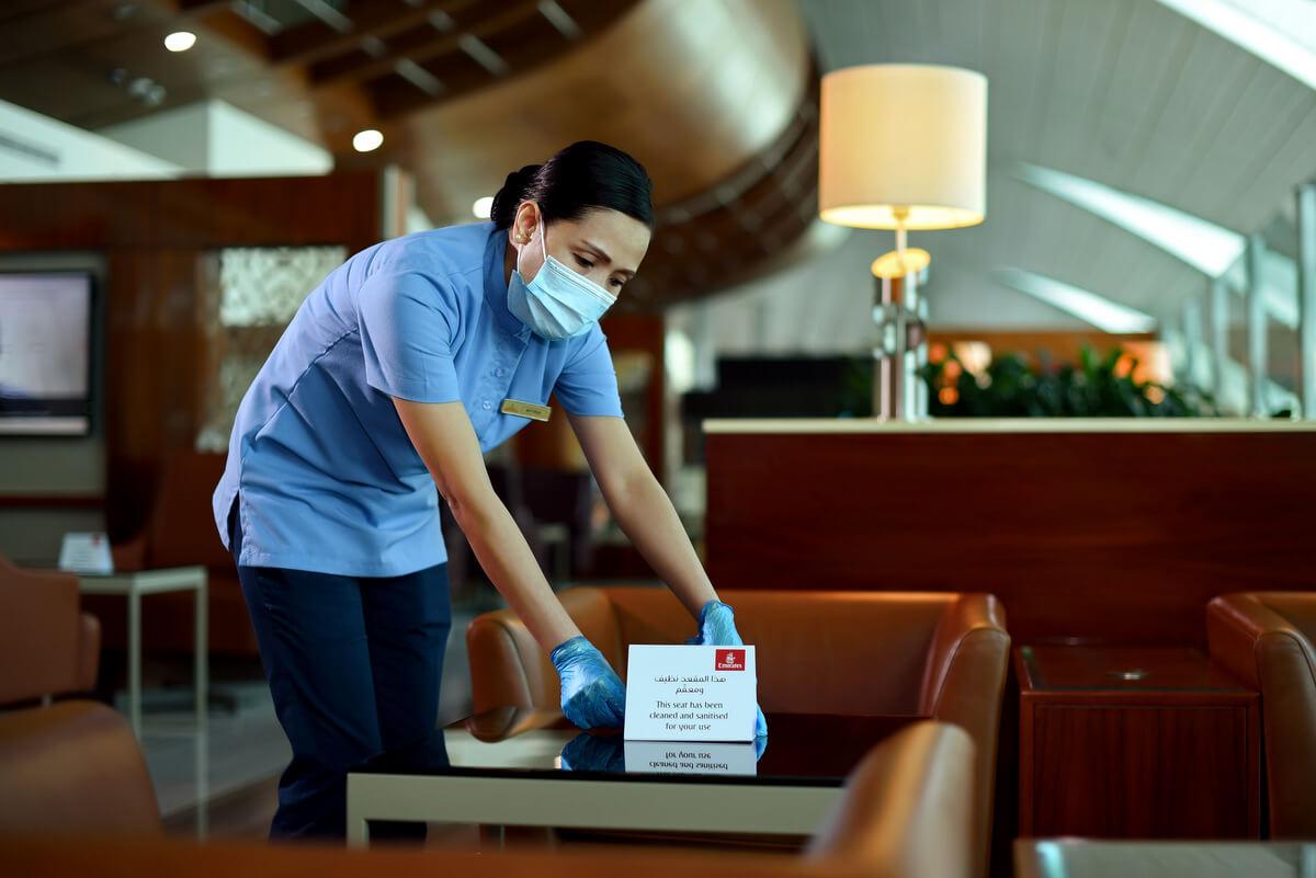 Salonik lotniskowe Emirates na nowo otwarte