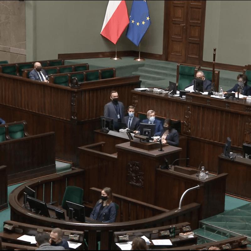 głosowanie w Sejmie nad przyjęciem tarczy antykryzysowej