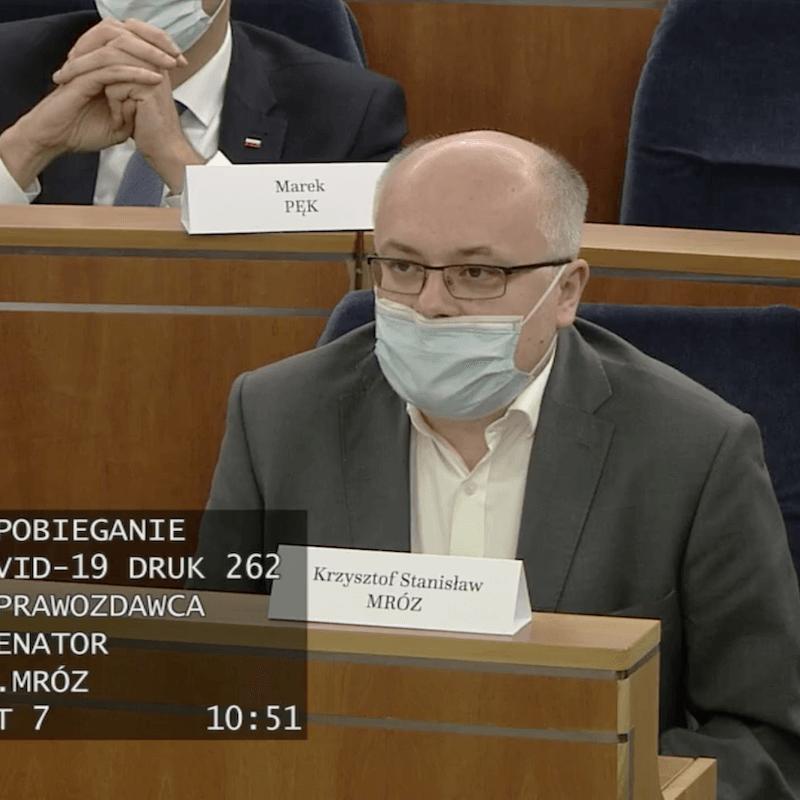 Senator PiS Krzysztof Mróz