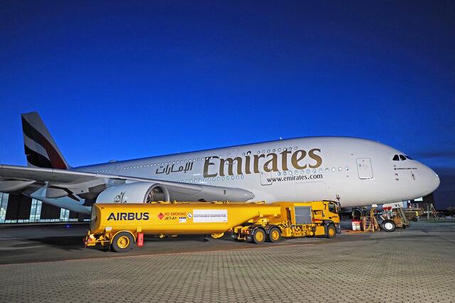 Emirates powiększają swoją flotę A380