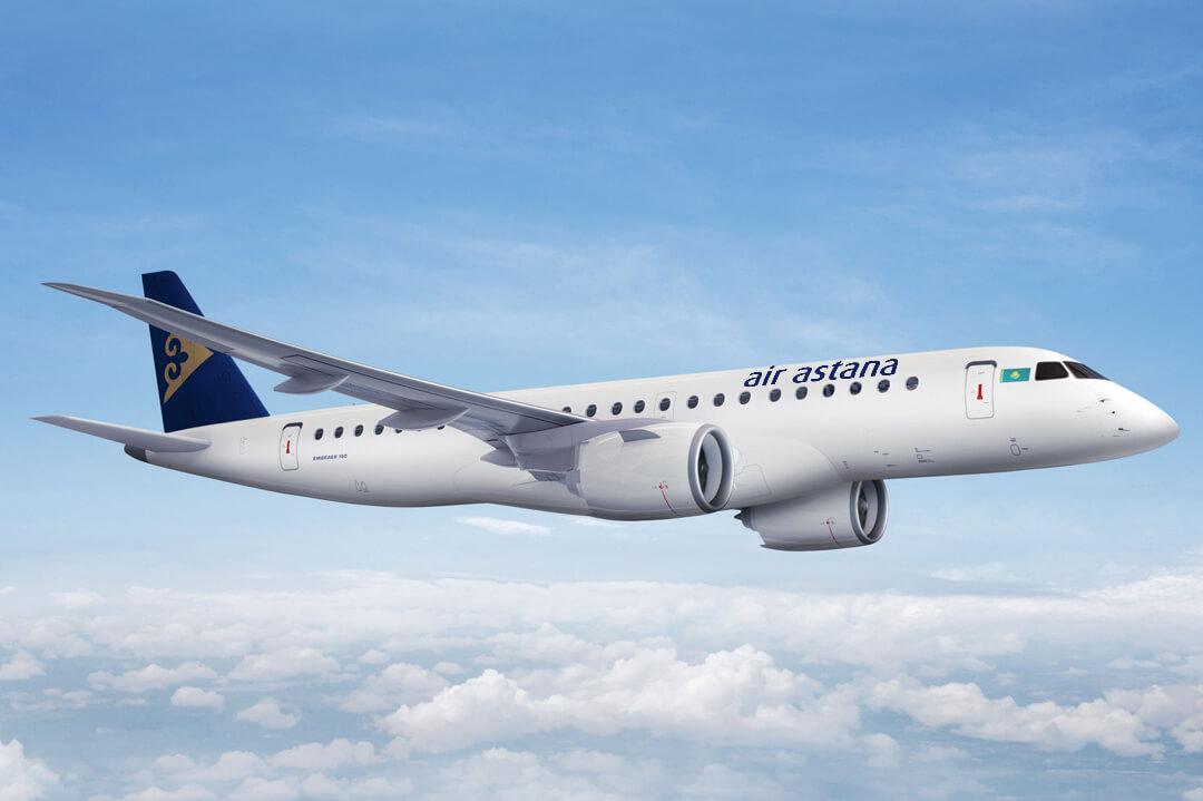 Nowa klasa w Embraerach Air Astana