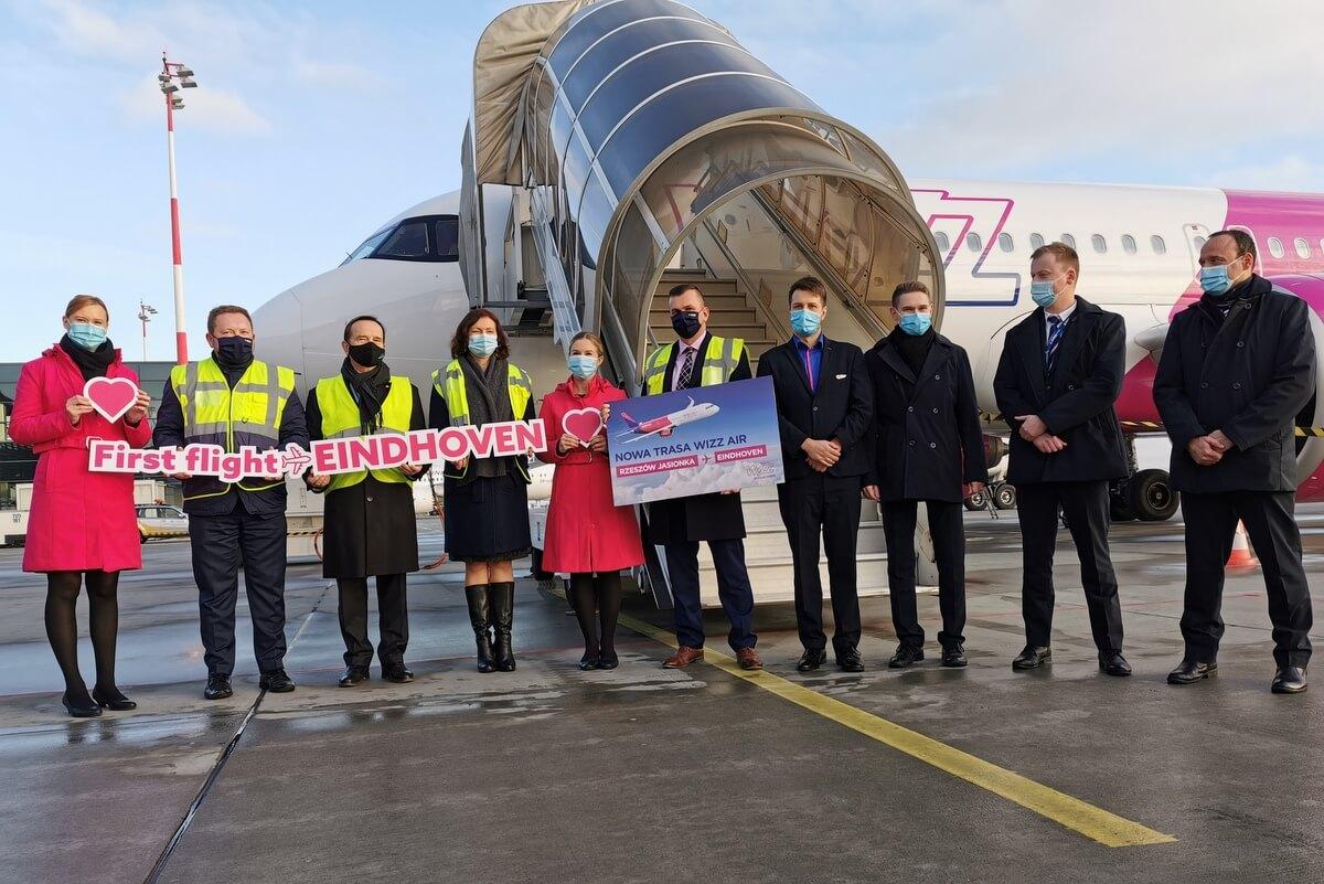 Wizz Air zaczyna loty z Rzeszowia