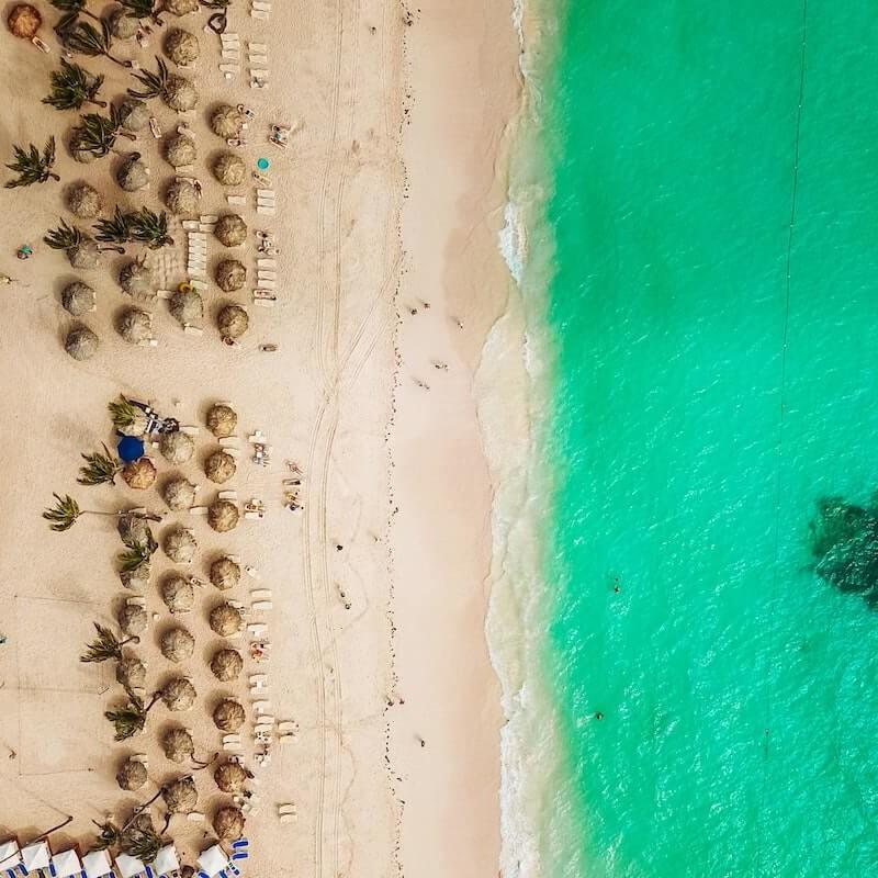 Rainbow dreamlinerem na Dominikanę