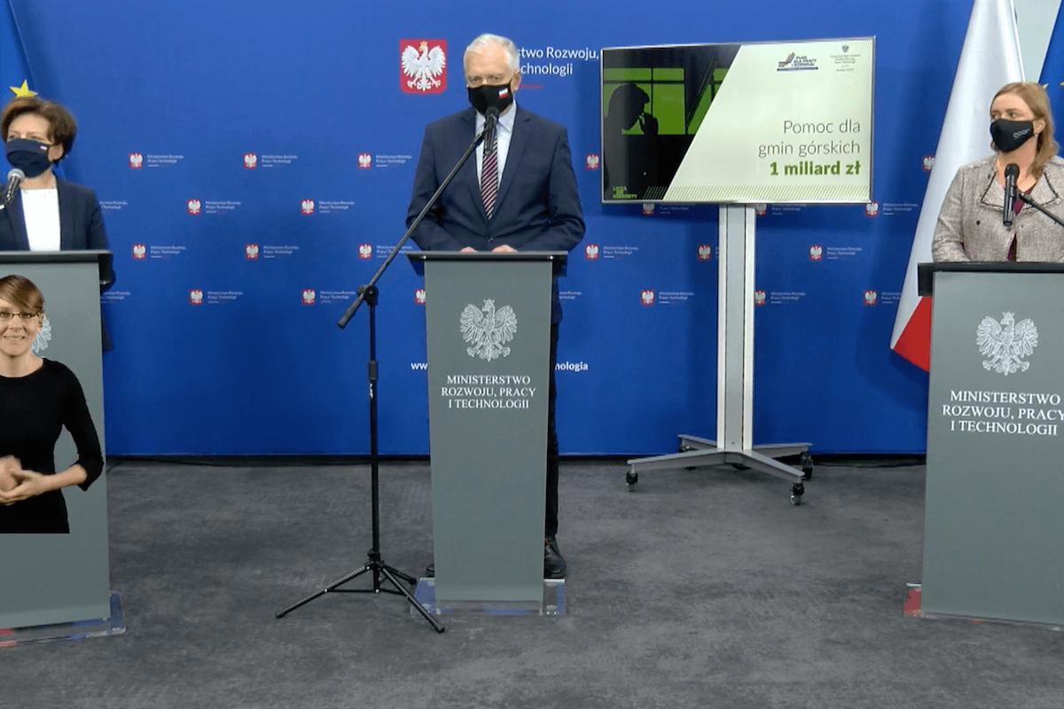 Jarosław Gowin: podatnicy solidarnie wspierają przedsiębiorców