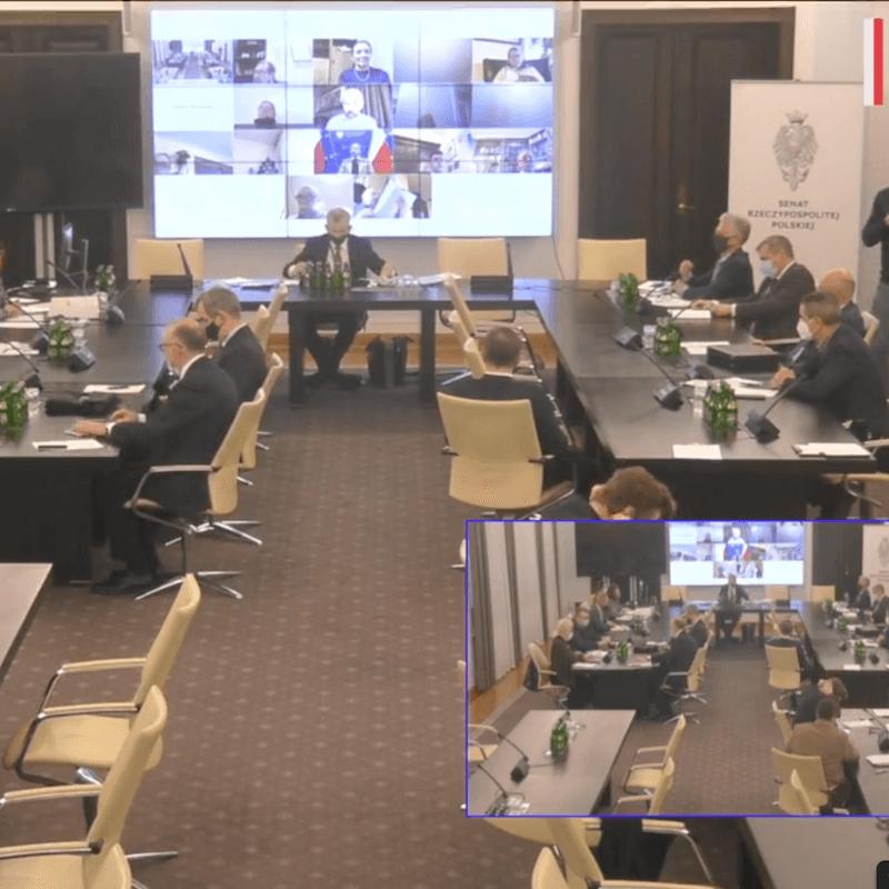 Komisja senacka o ustawie odszkodowawczej