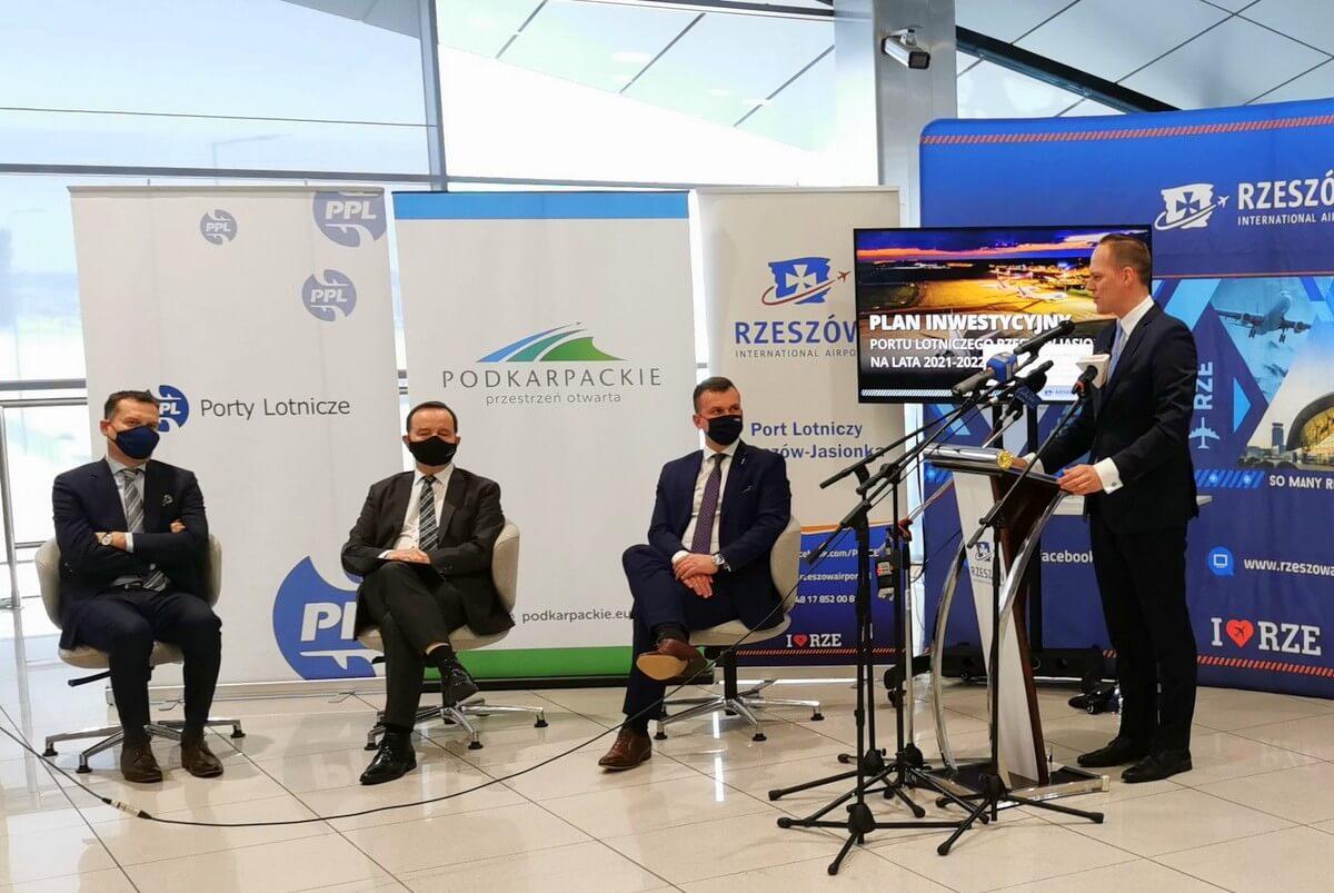 Nowe inwestycje na rzeszowskim lotnisku
