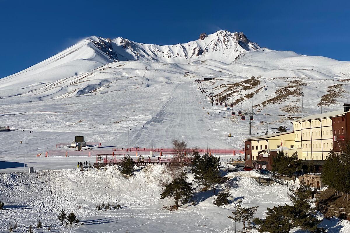 Erciyes stok narciarski Turcja