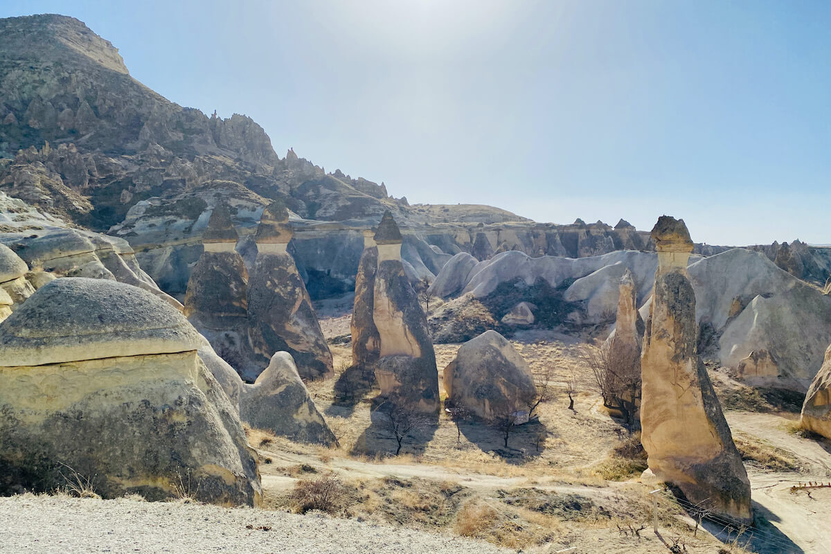 Pasabag Dolina Mnichów Kapadocja Turcja