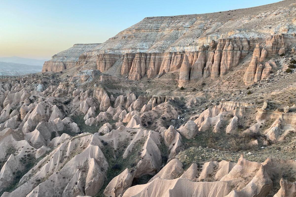 Czerwona Dolina Kapadocja Turcja
