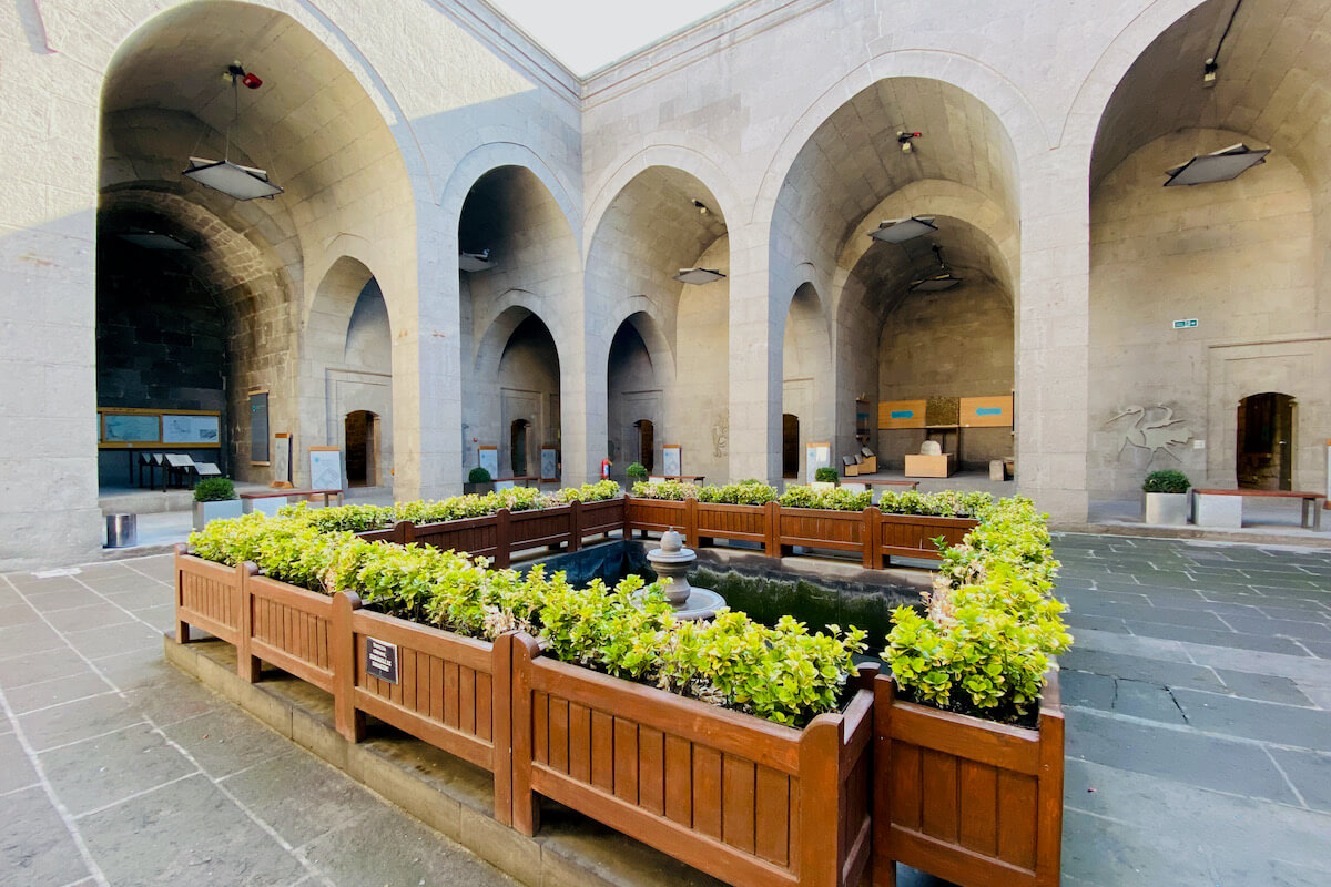 Muzeum Seldżuków Kayseri Turcja