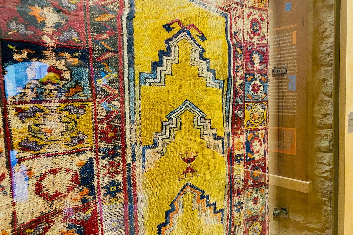 Dywan w Muzeum Seldżuków w Kayseri Turcja