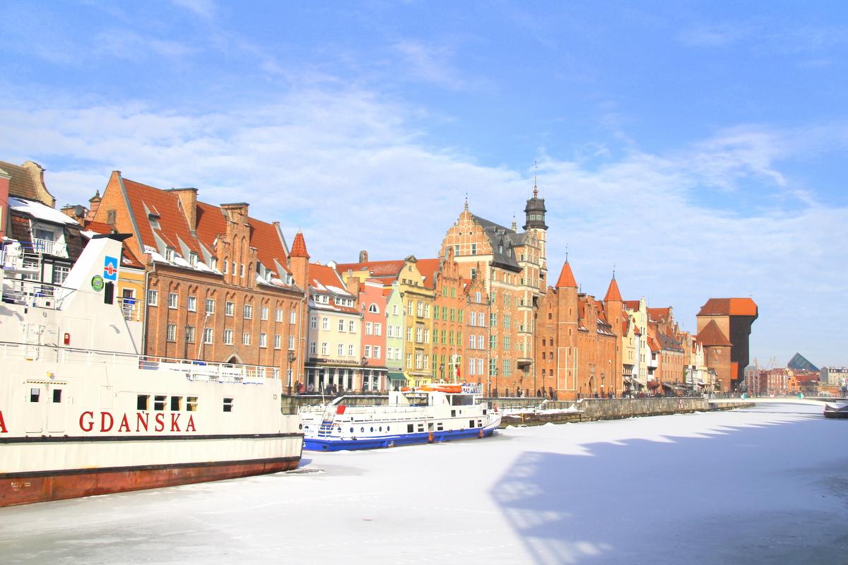Gdańsk warto odwiedzić o każdej porze roku