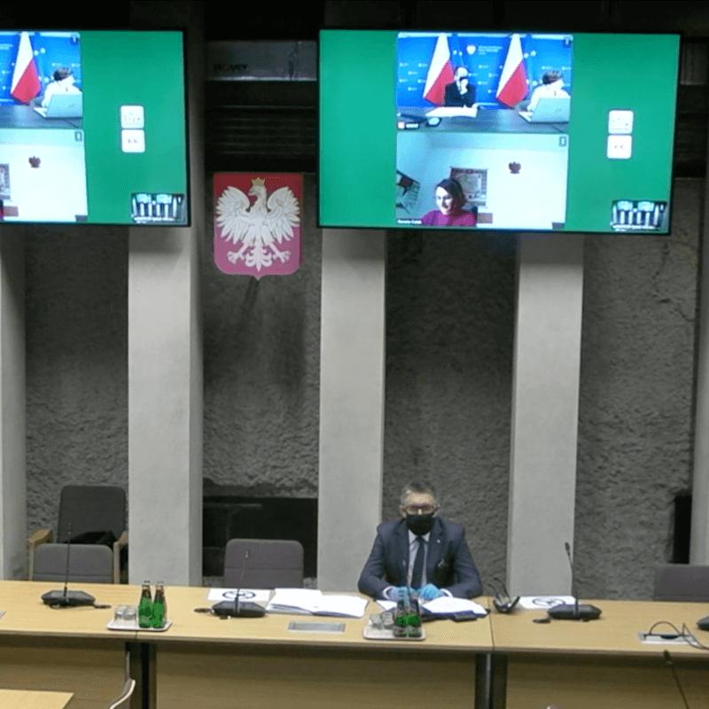 Posiedzenie sejmowej podkomisji ds. turystyki w sprawie KPO
