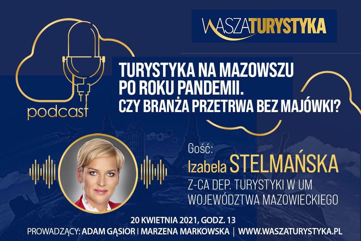 podcast Izabela Stelmańska Mazowsze