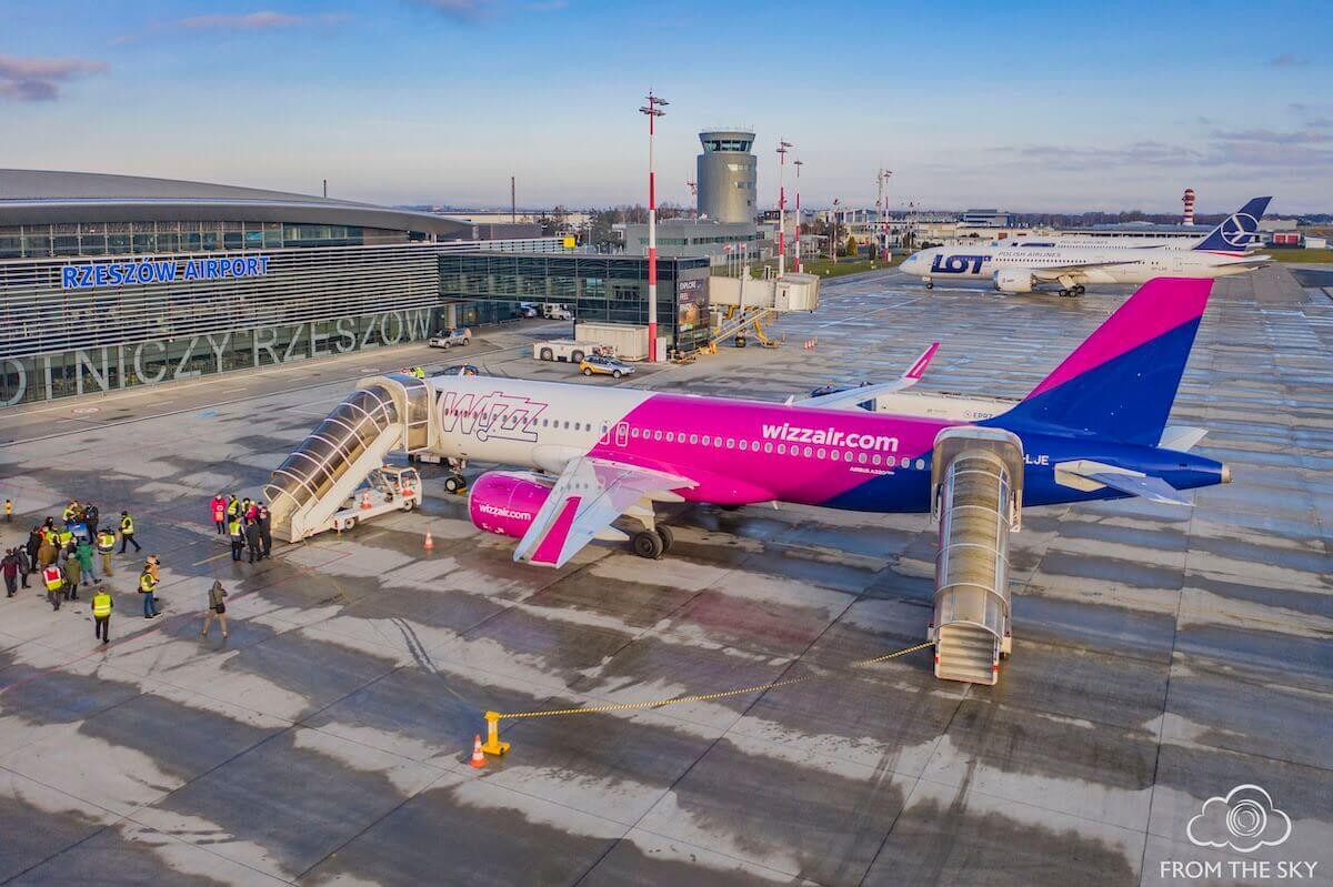 Wizz Air rozszerza sieć letnich połączeń z polski