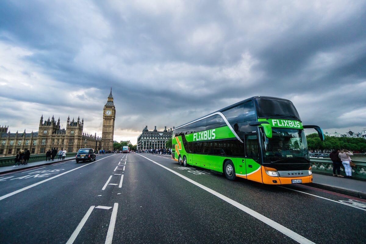 Flix Bus rozwija się połączeń w wielkiej Brytanii