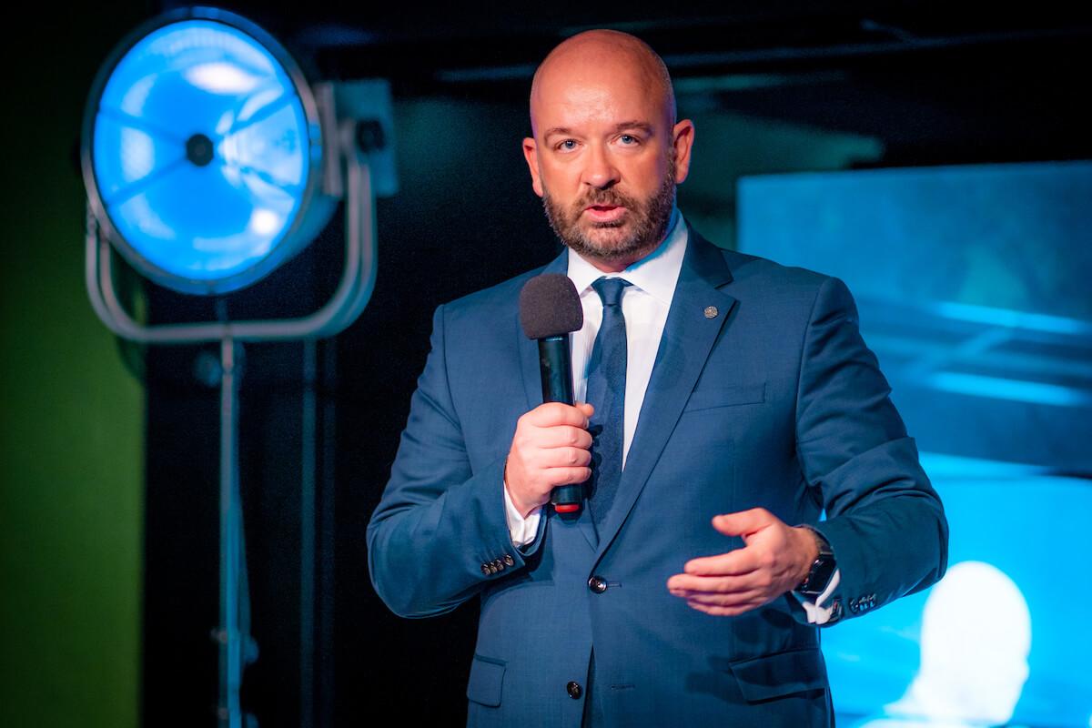 Jacek Sutryk, Prezydent Wrocławia, na VII Forum Promocji Turystycznej w Hydropolis