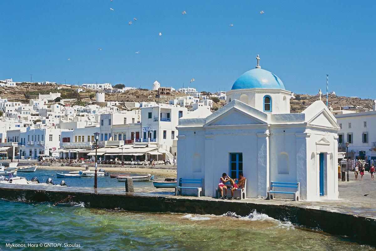 Mykonos Grecja PLL LOT