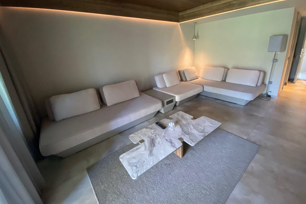 Paloma Finesse pokój dzienny w large family suite