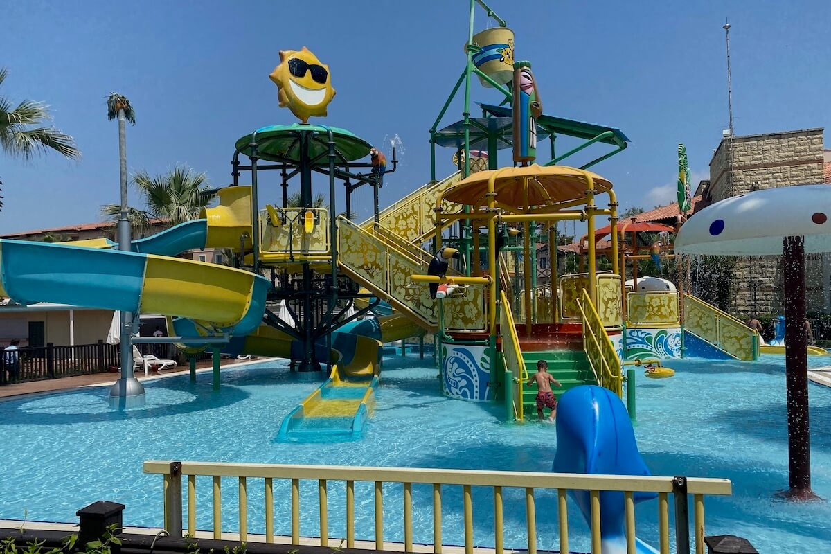 Aquapark w hotelu Paloma Grida