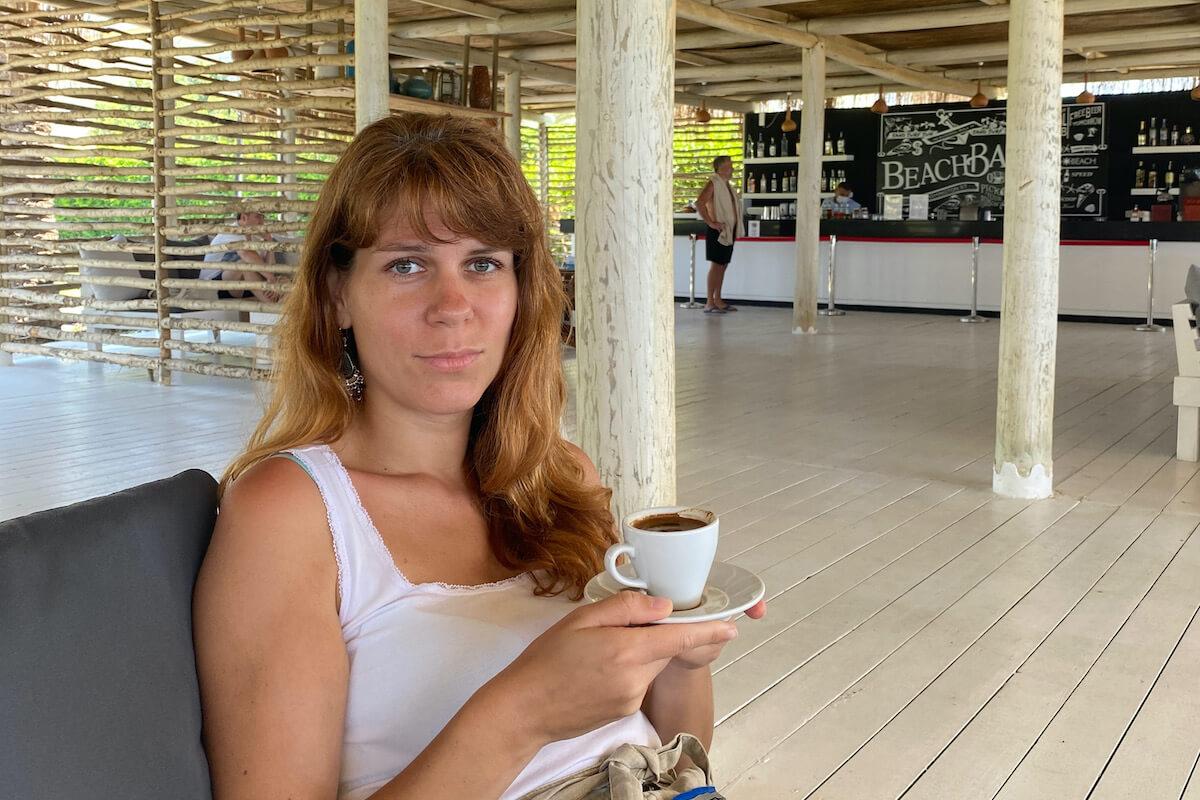 Plażowy bar w strefie dla dorosłych w Paloma Grida