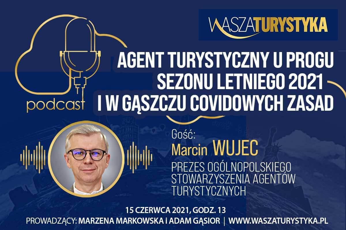 podcast Marcin Wujec OSAT agent turystyczny