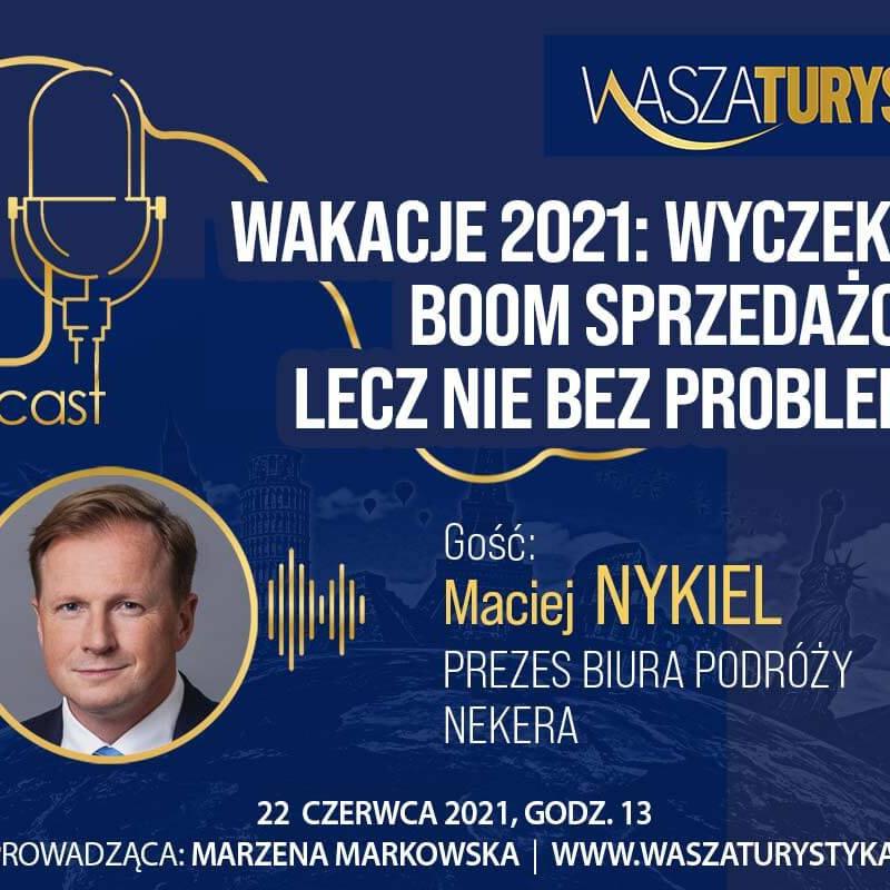 podcast Maciej Nykiel Nekera