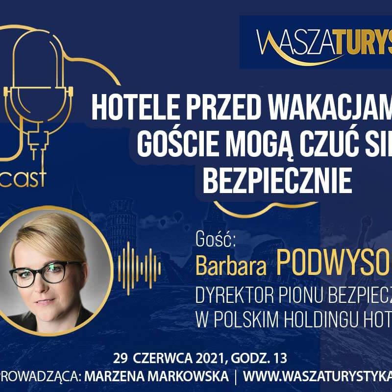 podcast Polski Holding Hotelowy w hotelach bezpiecznie