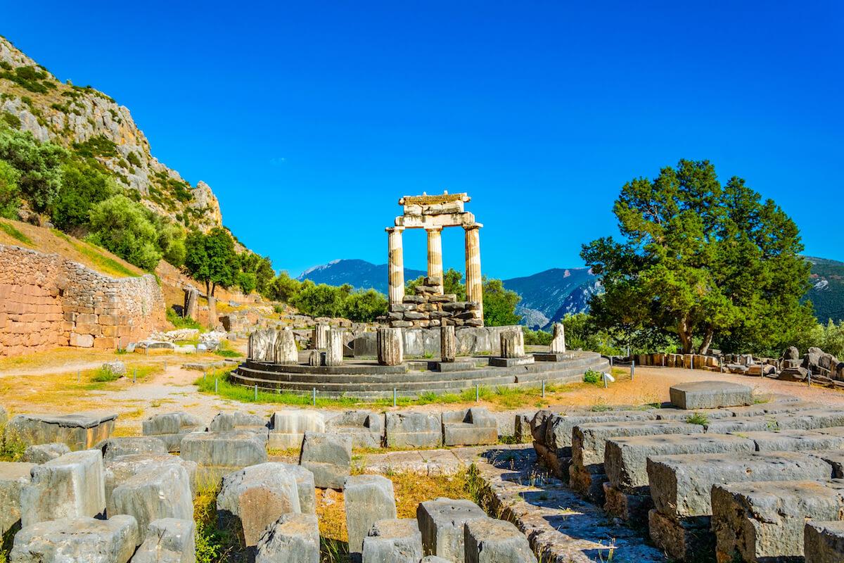 Delfy Grecja