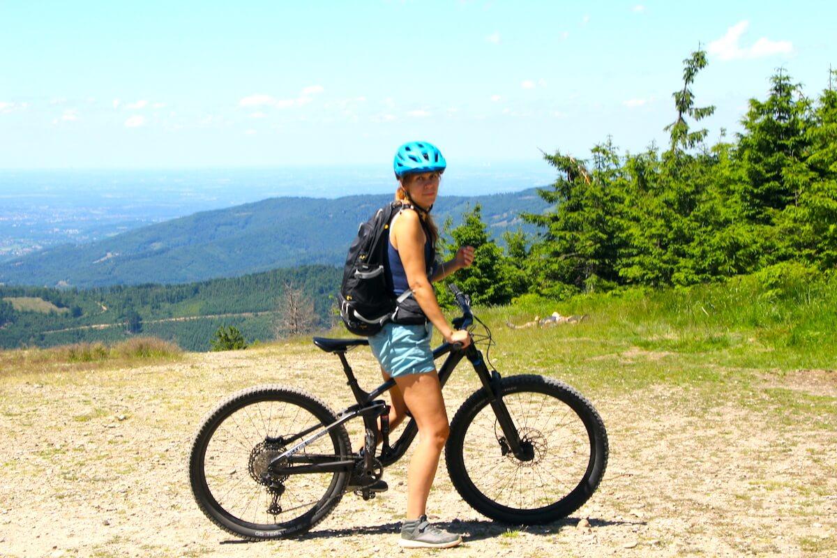 Szczyrk jest dobry dla cyklistów i piechurów