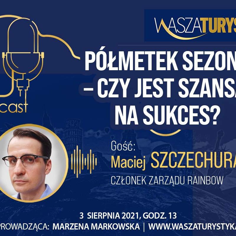 Maciej Szczechura Rainbow podcast
