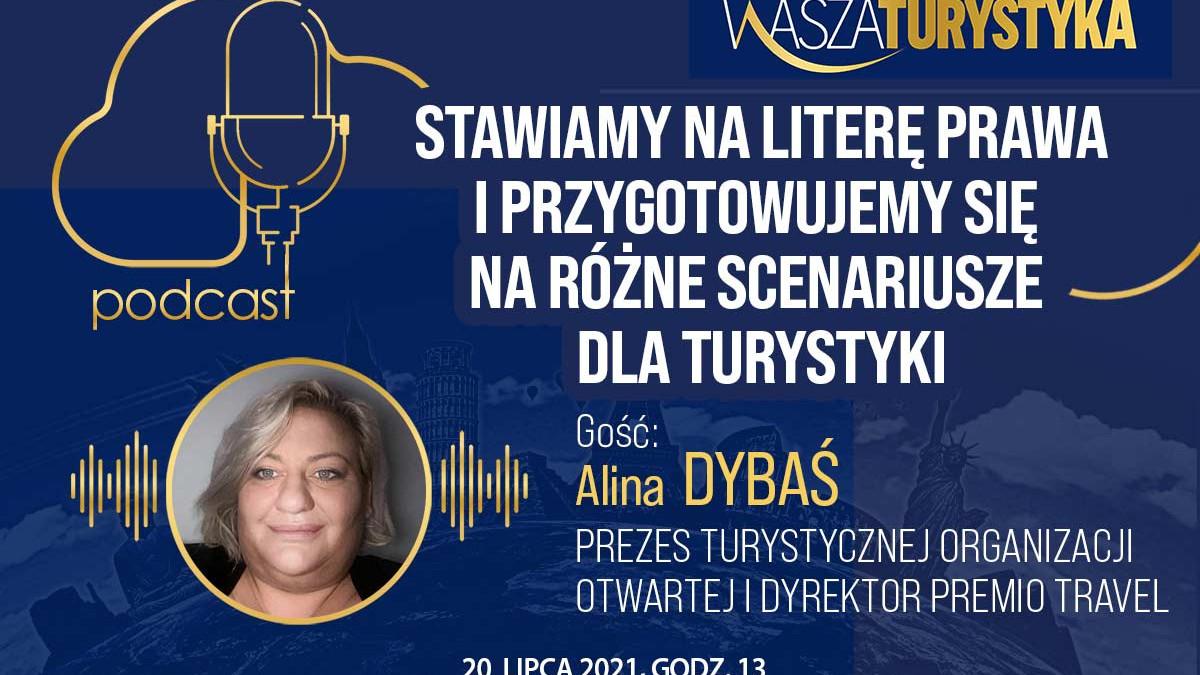 podcast Alina Dybaś scenariusze dla turystyki