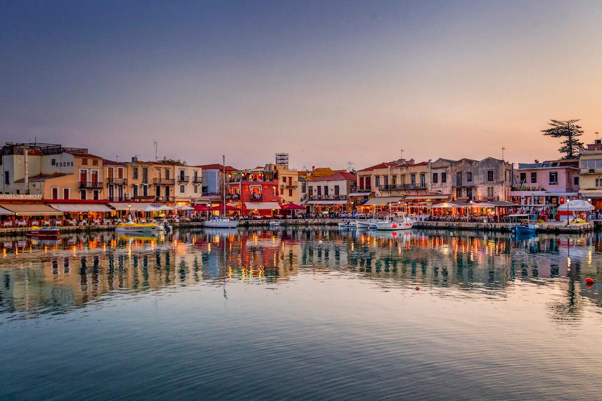 Port, Retimno Grecja