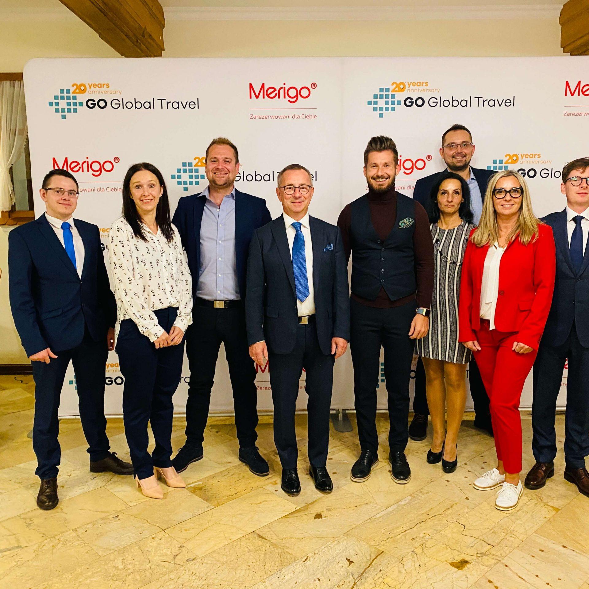20-lecie Go Global Travel, właściciela Merigo