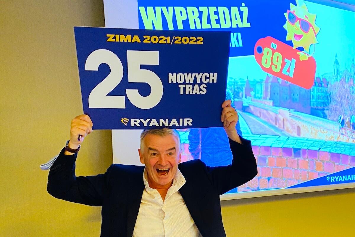 Michael O'Leary, dyrektor generalny Ryanair