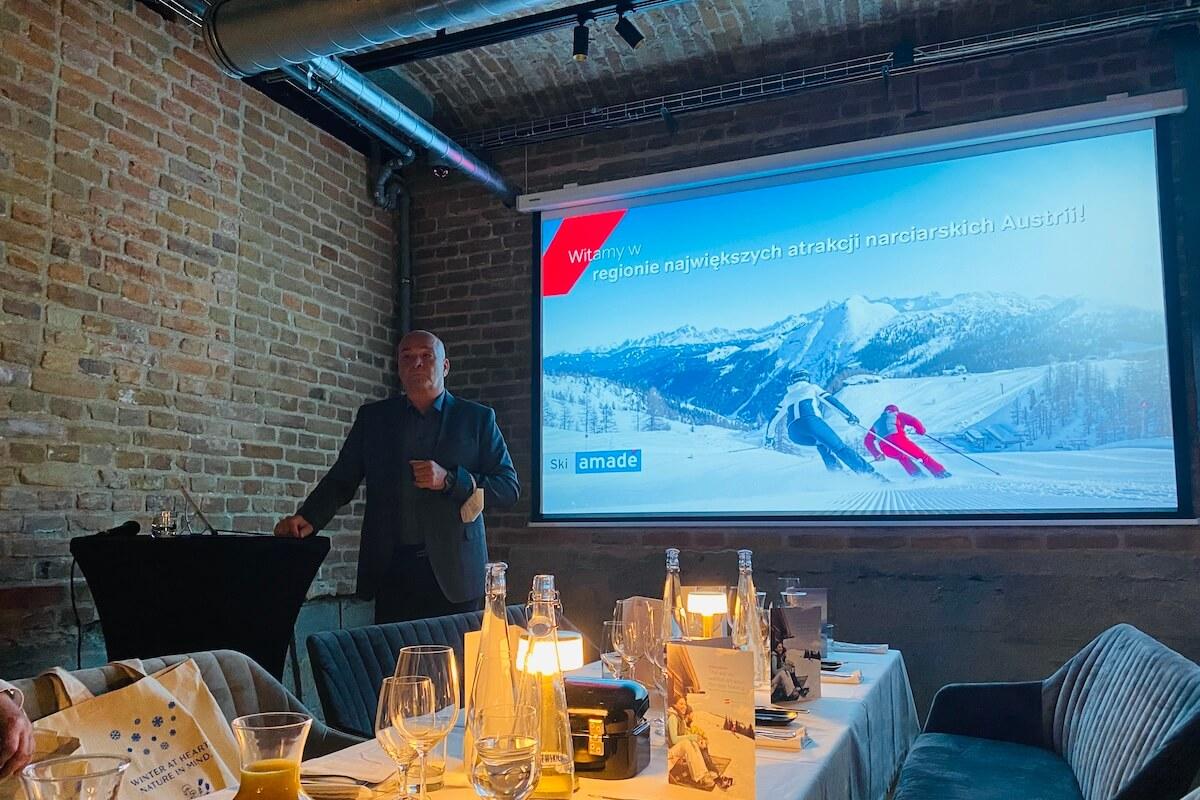 Spotkanie z Dr. Christophem Eisingerem z Ski Amade