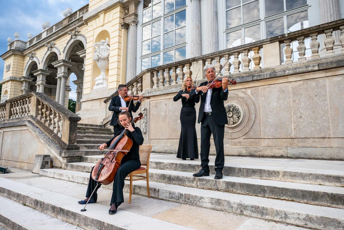 wiedeń miasto muzyki Pałac Schönbrunn